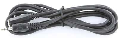 6 foot audio cable, male to female, 3.5mm stereo extension cable,