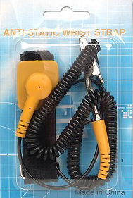 anti static wrist strap, computer parts, replacements parts