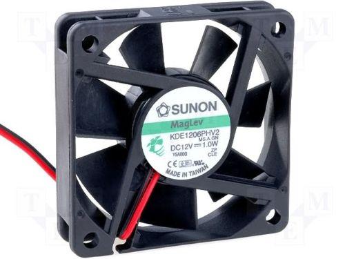 Sunon KDE1206PHV2, 60mm case fan,