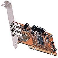 pci card, 3 port pci, 3 port pci firewire card, 3 port firewire, 3 firewire