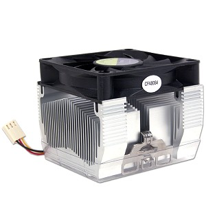 basic socket 370 cooler, cpu fan, heatsink and fan for socket a duron and athlon processors, pentium iii,