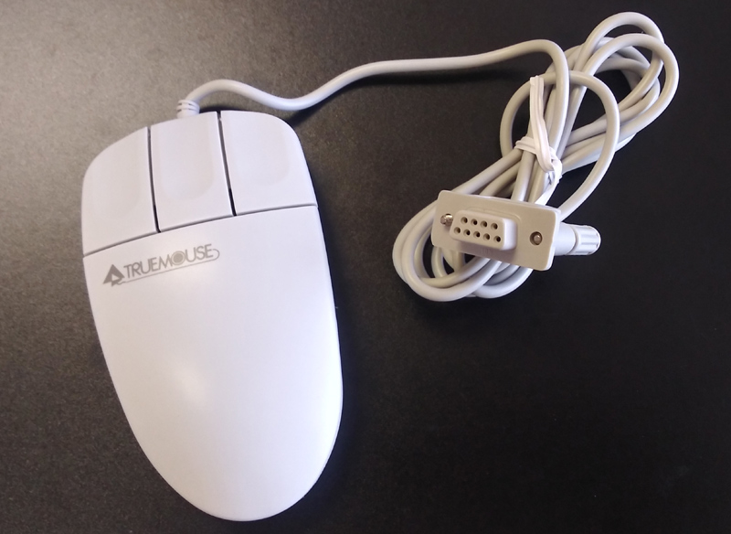 Generic serial mouse, 9 pin serial port connector,