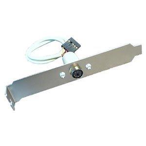 ps/2 mouse, ps/2 mouse connector, expansion bracket, L bracket,