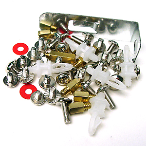motherboard screw pack, computer parts, replacements parts