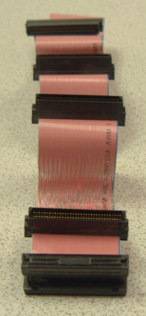 3 device 68 pin ribbon cable with terminator