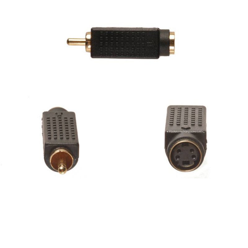 RCA Male to S-Video Female Adapter