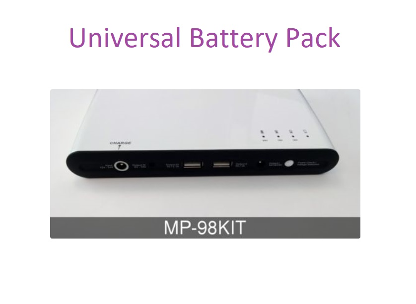universal battery pack