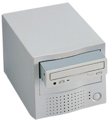dual bay external case for scsi drives, 2 bay scsi enclosure