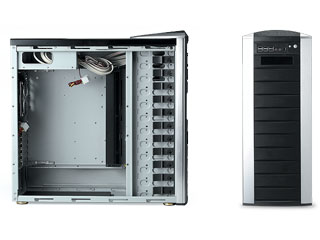 Full Tower black color desktop case for micro atx, black chassis, with p4  power supply, home theater systems,