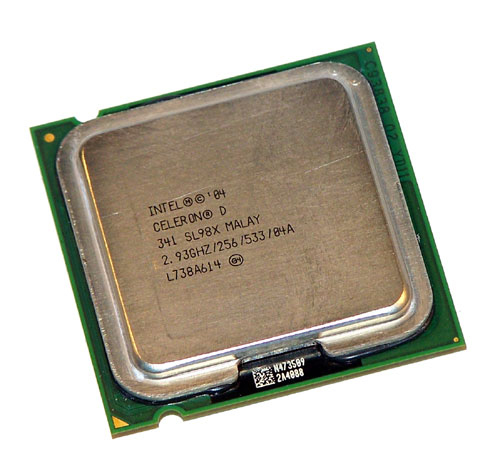 Intel Celeron D SL98X 341 2.93GHz/256/533MHz