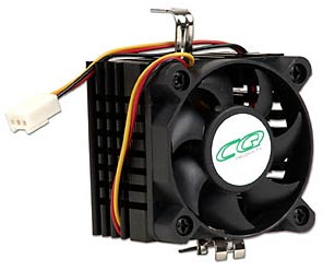 Socket 7 heatsink and fan, socket 7 cooler,