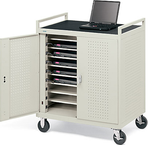 Notebook Storage Cart-18