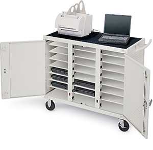 Notebook Storage Cart-24