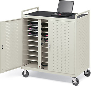 Notebook Storage Cart-30