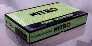 Nitro Tour Distance Titanium golf balls 15 pack for the average male golfer