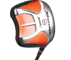 Acer XP Mantara Square Driver. Titanium. Choices of shafts based on swing speed and patterns