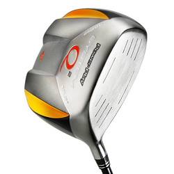 460 cc titanium driver, power play system q2 square driver, square head,