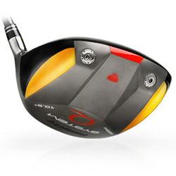 System Q2 driver. 460cc Titanium driver - Square Faced driver with removable weights power play system q2 square driver, square head,
