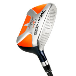 Acer Mantara squared face hybrid iron, rescue club with square face, utility iron, steel shaft, optional graphite shaft. Hit long and straight.