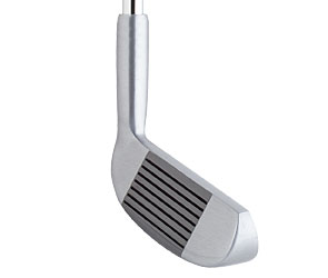 double sided golf club, dual sided chipper, a multi purpose club, golf
