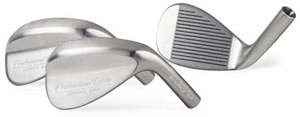 64 degree lob wedge, backspin, higher trajectory, flop shots, golf - Extra Lofted Wedge, set of four matching wedges in Satin Color, silver finish