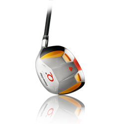 power play system q2 square head fairway woods, graphite shaft