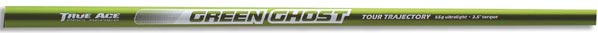 true ace green ghost high quality graphite shaft with a weight of 67 gms and torque of 3.5