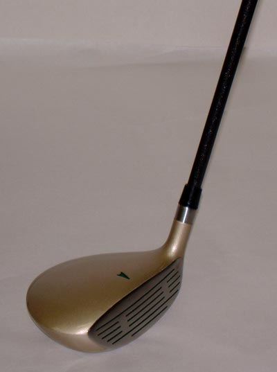 # 5 wood with graphite shaft