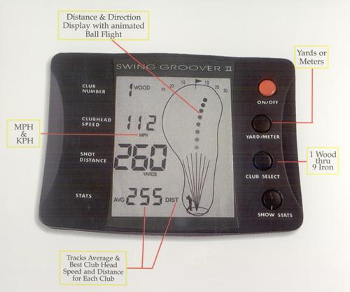 swing analyzer, swing speed analyzer, direction, club head speed analyzer