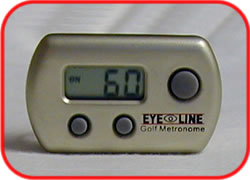 Golf metronome - consistent Rhythm is the key to consistent scoring