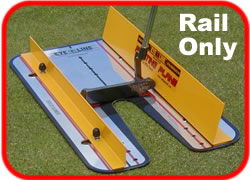 rail - for putting plane system