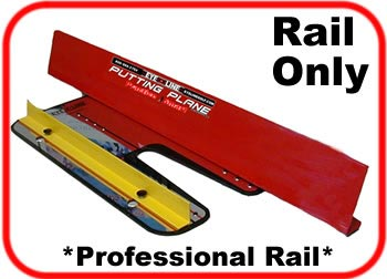 professional plane rail only - add on to the putting plane training system
