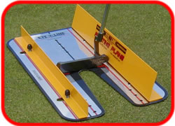 Putting Plane system. putting track and mirro - helps you put back and through on plane