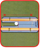 shoulder position, Putting Plane system. putting track and mirro - helps you put back and through on plane