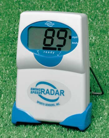 golf - baseball - swing speed radar, gauge, meter, doppler radar