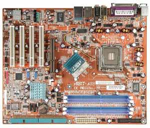 ABIT AS8 Motherboard Socket775,Pentium 4,Pentium 4 EE,Pentium XE,Celeron D,865PE chipset,4 PCI,DDR,Onboard Audio,Lan,IDE,SATA,RAID,ATX Form Factor