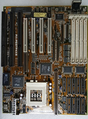 Asus P/I-P55TP4XE motherboard, Asus P/I-P55TP4XE slim computer system motherboard,