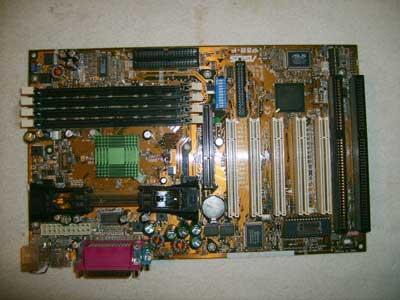 asus p3b-f motherboard with 2 isa slots