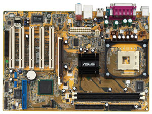 800FSB and DDR400 Intel Solution motherboard 5 x PCI 1 x ASUS WIF