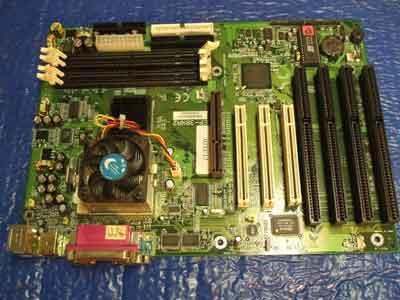 Epox EP-3BXA2 Motherboard with 4 isa slots