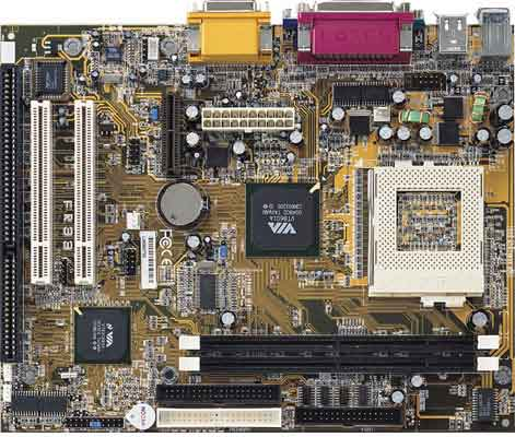 FIC FR33E motherboard with 1 isa slots, FIC FA33E