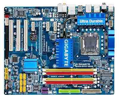 Gigabyte GA-EP45-UD3R Motherboard