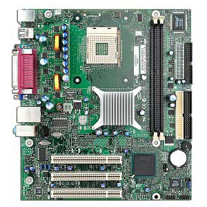 Intel D845GVSRL Motherboard, socket 478 motherboard with on-board audio, video and LAN