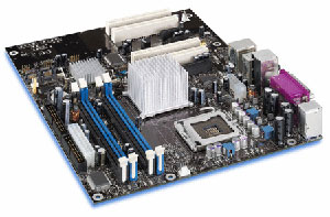 INTEL D925XECV2 Motherboard Socket 775,Pentium,925XE Chipset,4 PCI,3 PCI express,ddr2,Onboard Audio,Lan,IDE,SATA,AtX Form Factor.