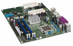 INTELD945PSN Motherboard Socket775,Pentium,Celeron D,945G Chipset,4 PCI,3 PCI Express,DDR2,Onboard Audio,Lan,IDE,SATA,ATX form factor