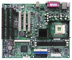 P4 Socket 478 Motherboard with 3 ISA slots, isa motherboard,