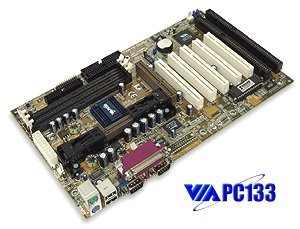Socket 370 motherboard with 2 ISA slots. tekram_P6PRO-A+ motherboard