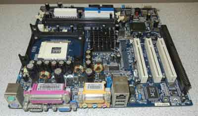 QDI P7LI/C-AL Motherboard, Pentium 4 Socket 478 motherboard with 1 ISA slot, 3 PCI, on-board audio, video and LAN