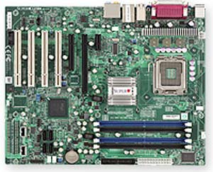 Supermicro C2SBA Motherboard, Single LGA775 ZIF Sockets, Supports an Intel ® Core2 Quad, Intel ® Core2 Duo, Intel G33 chipset, 1 (x16) PCI-E,  1 (x4) PCI-E, 1 (x1) PCI-E, 4x PCI 32-bit 33MHz, DDR2 DIMM Up to 8 GB,  LAN, USB,  SATA, Video, Audio, ATX Form Factor