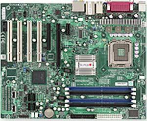 Supermicro C2SBE Motherboard, Supports an Intel � Core 2 Quad, Core2 Duo,  Intel P35 chipset, 1 (x16) PCI-E,  1 (x4) PCI-E, 1 (x1) PCI-E, 4x PCI 32-bit 33MHz, DDR2 DIMM Up to 8 GB,  LAN, USB, IDE, SATA, Audio, ATX Form Factor
